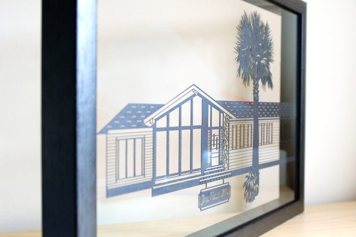 House Papercut (Home Decor)