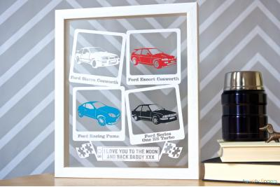 'The Cars' Papercut