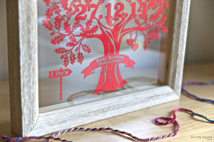 Love Tree Papercut (Home Decor)