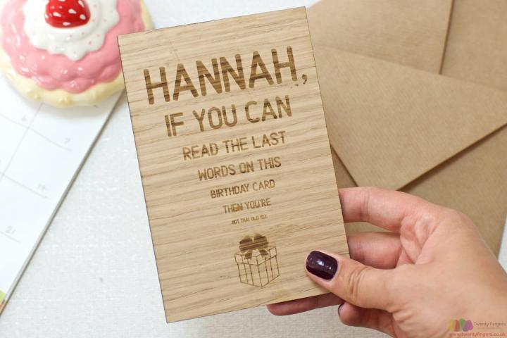 If you can read this... | Personalised birthday card