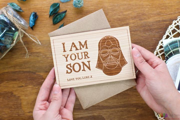 I'm your son. Personalised Fathers Day Card