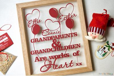 Grandparents and grandchildren are works of heart