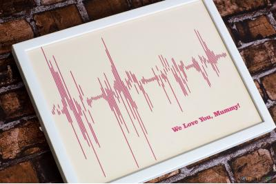 Sound Wave Papercut