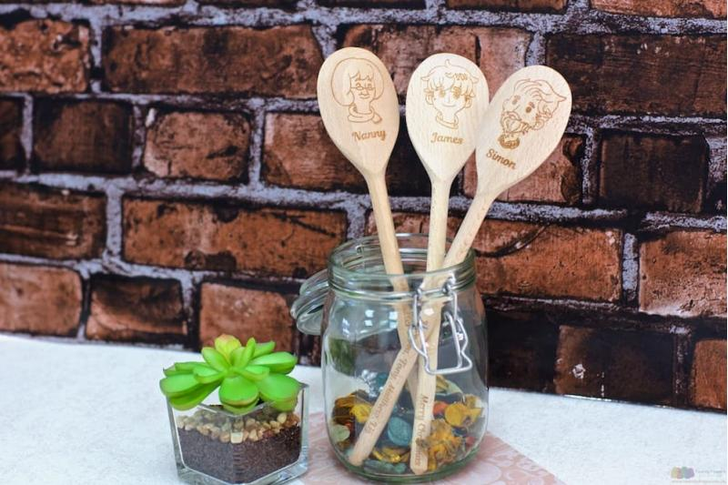 5 Ways Personalised Wooden Spoons Make Fabulous Gifts