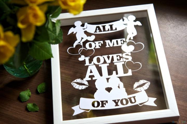 Any Text, Lyrics & Quotes Papercut (Home Decor)