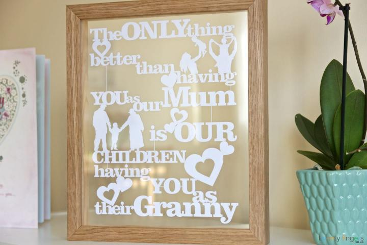 The only thing better than having you as our Mum is our children having you as their Granny