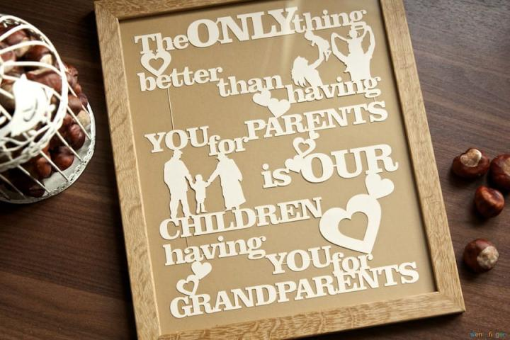 The only thing better than having you parents is...