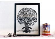 Cloud Family Tree Papercut