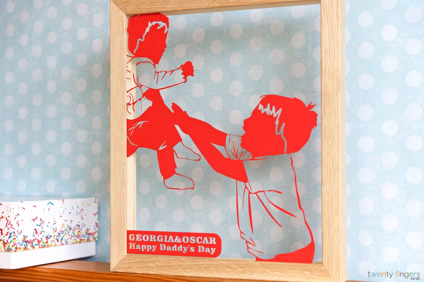 Twenty Fingers Personalised Gifts And Bespoke Papercuts